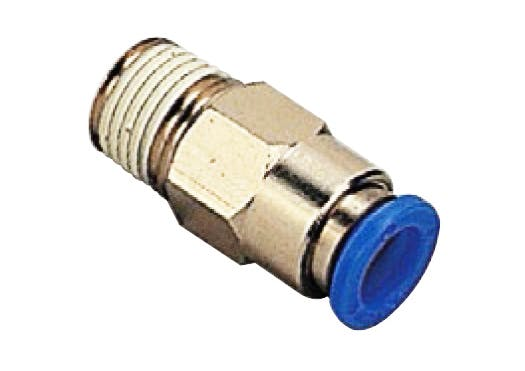 Stop valve male straight