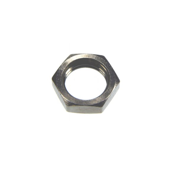nickel plated lock nut pipe fitting