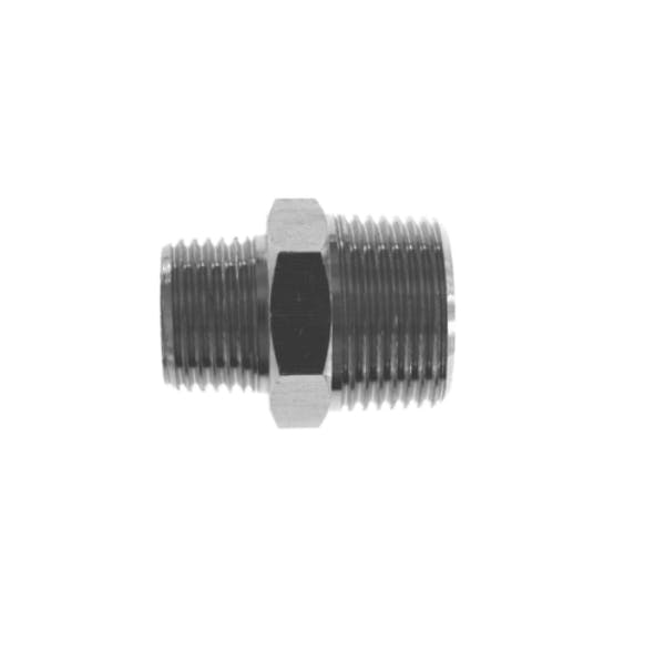 nickel plated male male reducing nipple pipe fitting