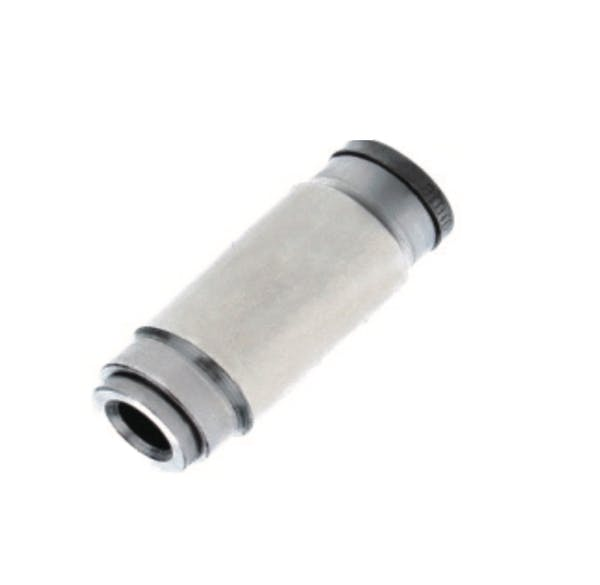 nickel plated reducing straight union push in fitting