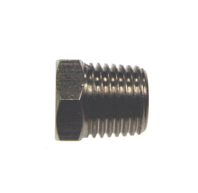 nickel plated taper plug pipe fitting