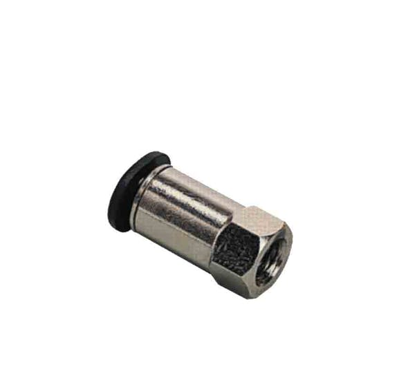 composite compact female straight push in fitting