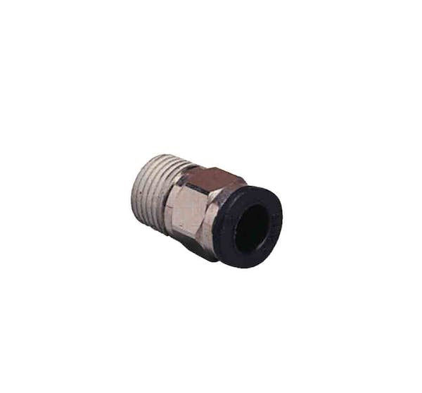composite compact male straight push in fitting