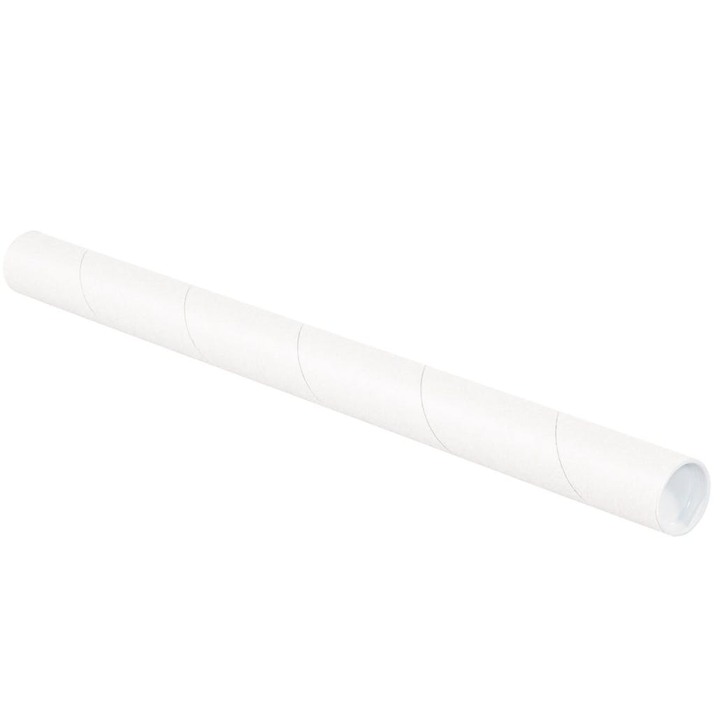 white mailing tubes - PartPack
