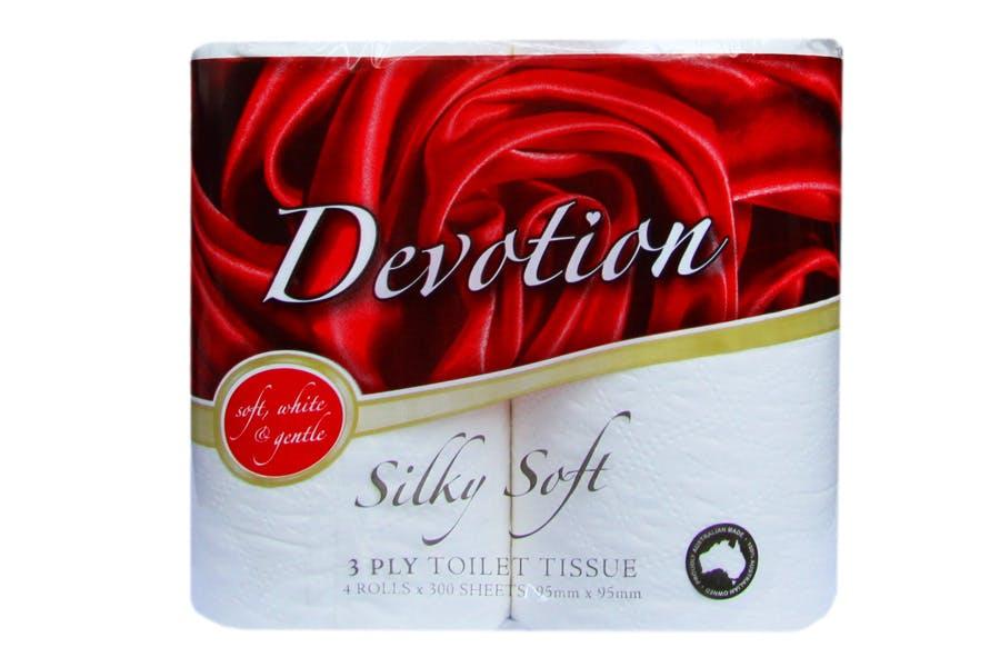 Devotion Silky Soft Toilet Paper 3 ply - PartPack