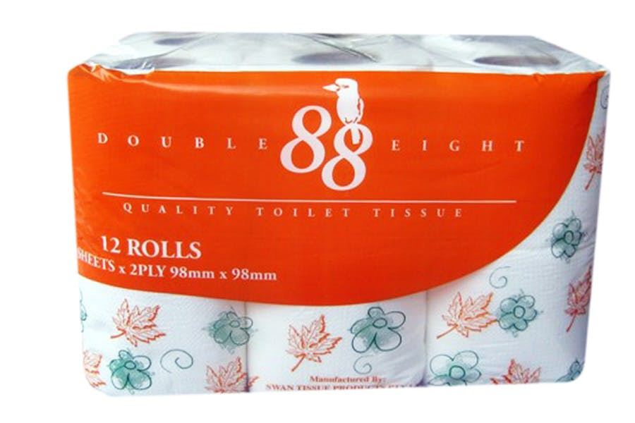 Double Eight Toilet Paper 2ply - PartPack