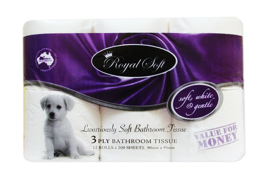 Royal Soft Luxuriously Soft Toilet Paper 3ply - PartPack
